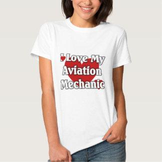 I love my Aviation Mechanic Tee Shirt
