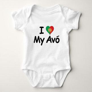 I Love My Avo (Grandmother) T Shirts