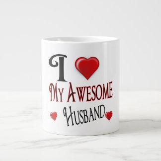 I Love My Awesome Husband Jumbo Mug Xmas Gift