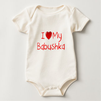 I Love My Babushka Infant Toddler T-Shirt
