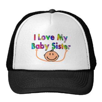 I love my baby sister trucker hat