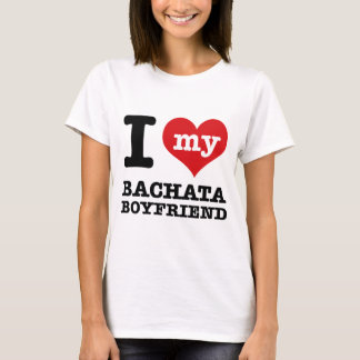 I love my Bachata husband T-Shirt