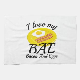 I Love My BAE Kitchen Towel