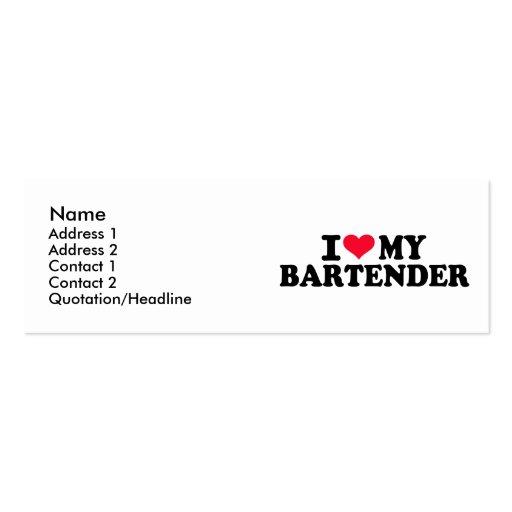 I love my Bartender Business Cards