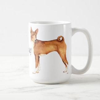 I Love my Basenji Coffee Mug