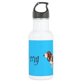 I Love my Basset Hound 532 Ml Water Bottle