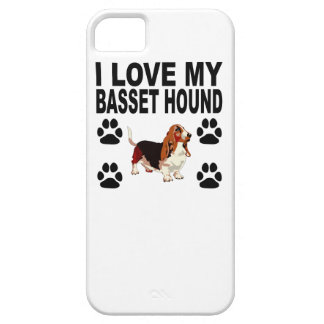 I Love My Basset Hound Case For The iPhone 5