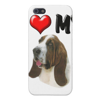 I Love My Bassett Hound iPhone 5 Cases