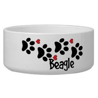 I Love My Beagle Dog Puppy Hearts