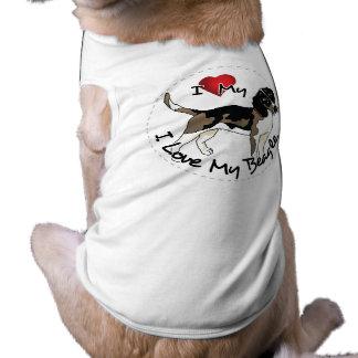 I Love My Beagle Dog Shirt