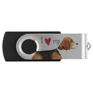 I love my Beagle USB Flash Drive