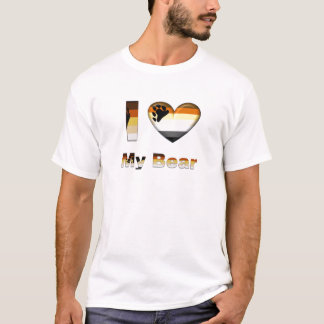 I Love My Bear / Cub T-Shirt