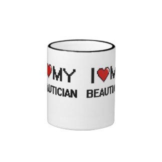 I love my Beautician Ringer Mug