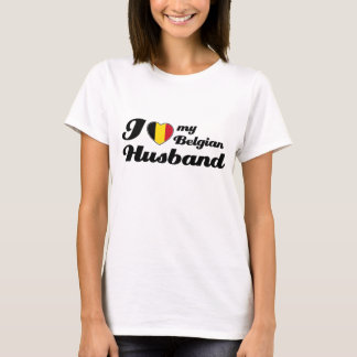 I love my Belgian Husband T-Shirt