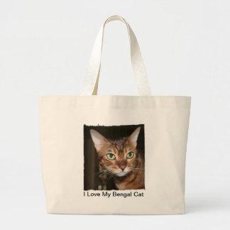 I Love My Bengal Cat Tote