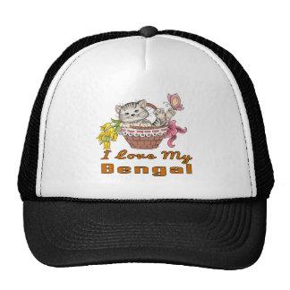 I Love My Bengal Trucker Hat