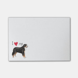 I Love my Berner Post-it® Notes