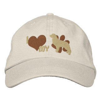 I Love my Bernese Mountain Dog Embroidered Hat