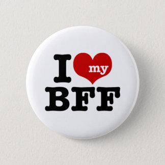 I Love My BFF 2 Inch Round Button