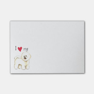 I Love my Bichon Frise Post-it® Notes