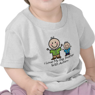 I Love My Big Brother With Autism Shirt