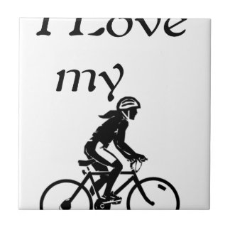 I Love My Bike Tiles