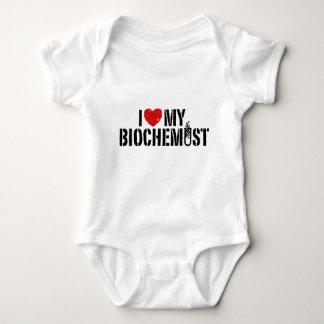 I Love My Biochemist Baby Bodysuit