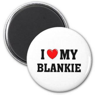 I love my blankie fridge magnets