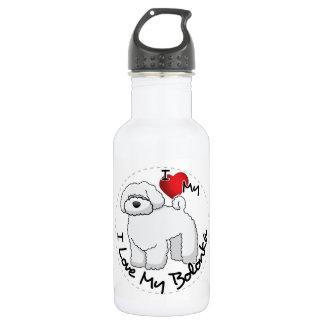 I Love My Bolonka Dog 532 Ml Water Bottle