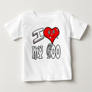 I Love My Boo Baby T-Shirt