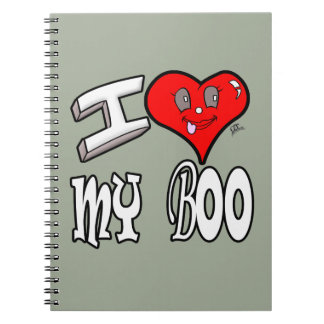 I Love My Boo Notebooks