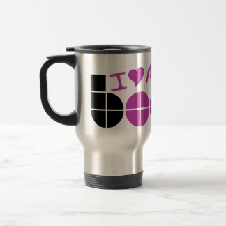 I Love my Boobs 15 Oz Stainless Steel Travel Mug