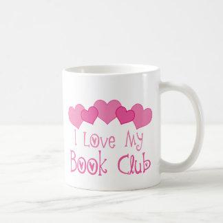I Love My Book Club Coffee Mug