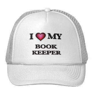 I love my Book Keeper Trucker Hat