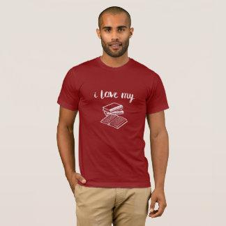 I Love My Books Short Sleeve T-Shirt