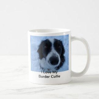 I Love My Border Collie Mug