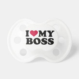 I love my boss pacifier