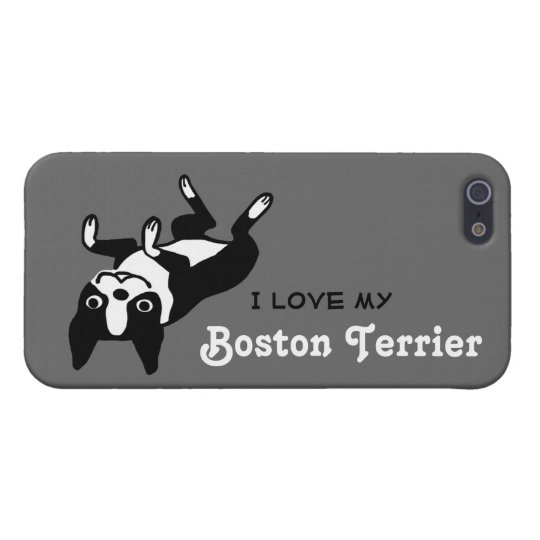 I Love My Boston Terrier iPhone 5 Case