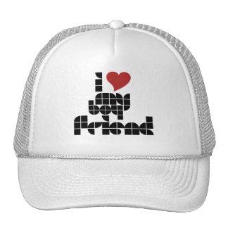 I love my boyfriend hats