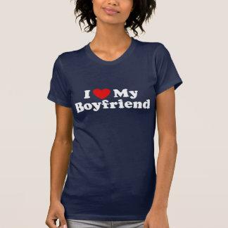 I Love My boyfriend Tshirts