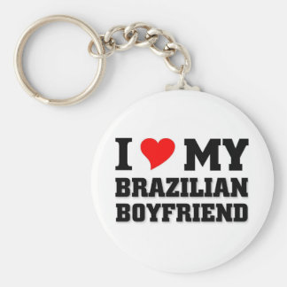 I love my Brazilian Boyfriend Keychain