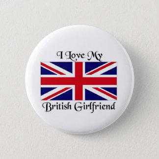 I love my British Girlfriend 2 Inch Round Button
