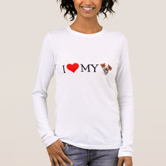 I Love My Brittany Long Sleeve T-Shirt