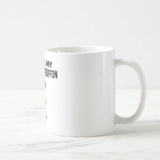 I Love My Brussels Griffon Dog Designs Coffee Mug