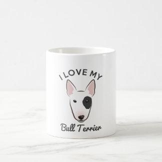 """I Love My Bull Terrier"" Coffee Mug"
