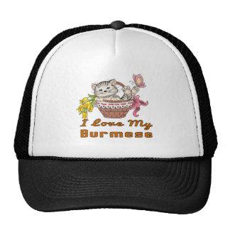 I Love My Burmese Trucker Hat