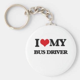 I love my Bus Driver Keychain