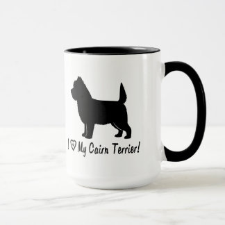 I Love My Cairn Terrier! Mug