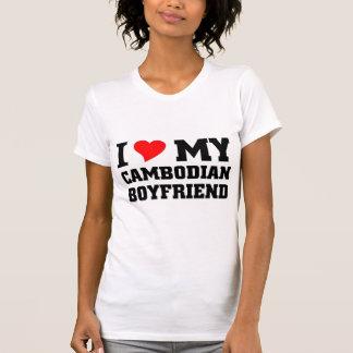 I love my Cambodian Boyfriend T-Shirt