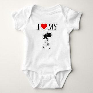 I LOVE MY CAMERA BABY BODYSUIT